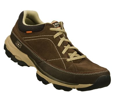 pulmón Fructífero evitar  Skechers Relaxed Fit: Urban Voltaic in NaturalBrown - Skechers Mens  Athletic on Shoeline.com