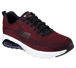 Red Black Skechers Skech-Air Varsity