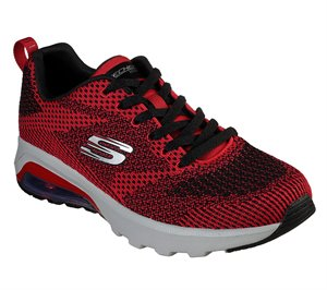 Black Red Skechers Skech-Air Extreme - Erleland