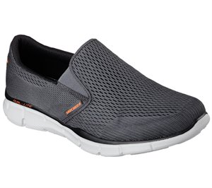 Orange Gray Skechers Equalizer - Double Play