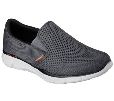 Orange Gray Skechers Equalizer - Double Play - FINAL SALE