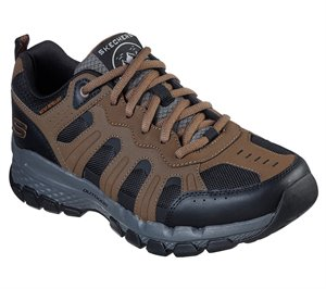Black Brown Skechers Relaxed Fit: Outland 2.0 - Stallwood