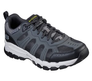 Black Gray Skechers Relaxed Fit: Outland 2.0 - Stallwood