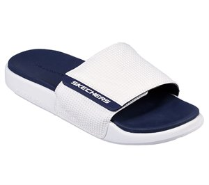 Navy White  Skechers Gambix 2.0