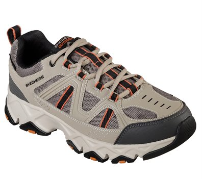 Skechers Relaxed Fit: Crossbar in Black Natural Skechers