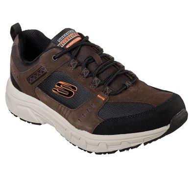 großer Abverkauf Großhandelsverkauf Rabatt-Verkauf Skechers Relaxed Fit: Oak Canyon in Black Brown - Skechers ...