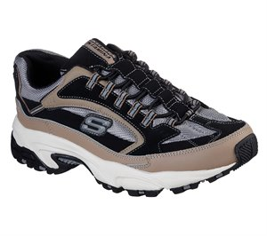 Black Natural Skechers Stamina - Woodmer
