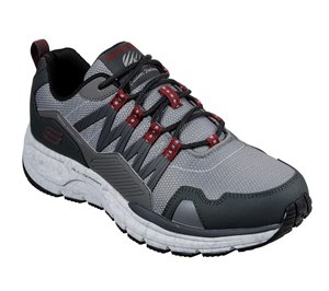 Red Gray Skechers Escape Plan 2.0 - Ashwick