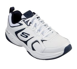 Navy White Skechers Pulmer