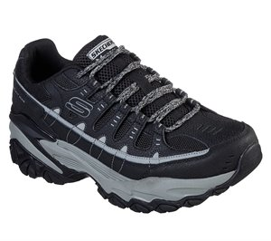 Gray Black Skechers Energy - After Burn M. Fit Max