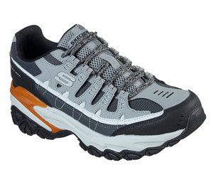 Gray Skechers Energy - After Burn M. Fit Max