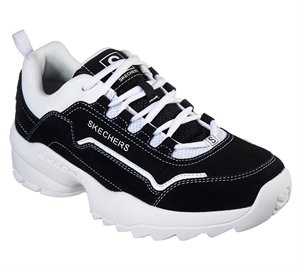White Black Skechers Tidao
