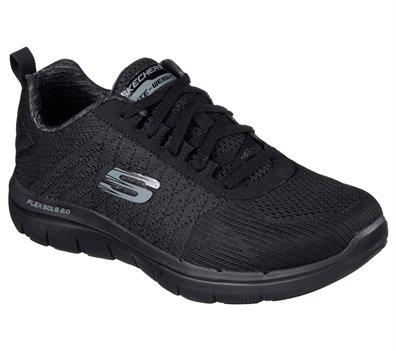 Black Skechers Flex Advantage 2.0 - The Happs
