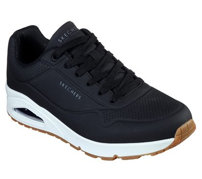 Black Skechers Uno - Stand On Air