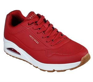 Red Skechers Uno - Stand On Air - FINAL SALE