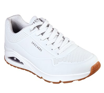 White Skechers Uno - Stand On Air