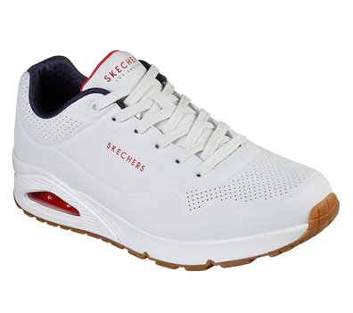 Navy White Skechers Uno - Stand On Air - FINAL SALE