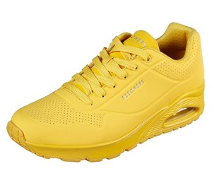 Yellow Skechers Uno - Stand On Air