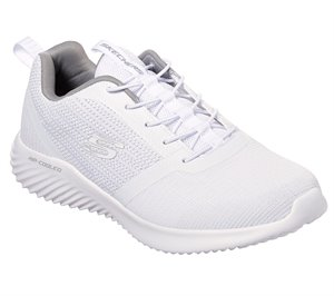 White Skechers Bounder