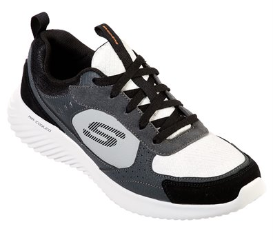 Black Gray Skechers Bounder - Courthall