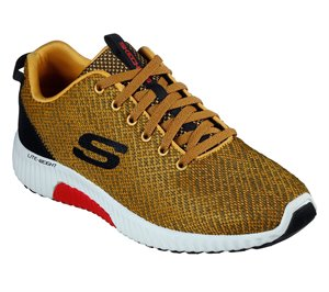 Black Yellow Skechers Paxmen - Wildespell