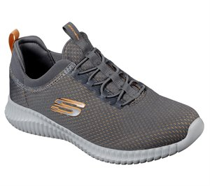 Orange  Gray Skechers Elite Flex - Belburn