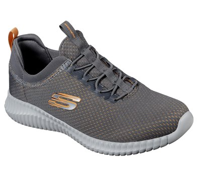 Orange  Gray Skechers Elite Flex - Belburn - FINAL SALE