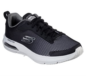 Gray Black Skechers Skech-Air: Dyna-Air - Blyce