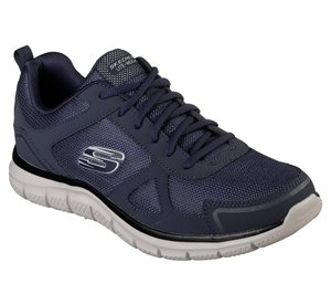 Navy Skechers Track