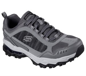 GRAY Skechers After Burn M Fit Air