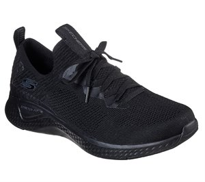 Black Skechers Solar Fuse - Valedge