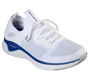 Blue White Skechers Solar Fuse - Valedge