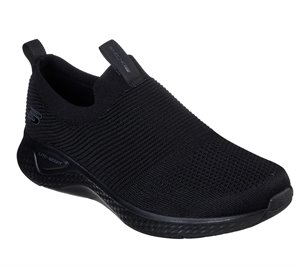 Black Skechers Solar Fuse