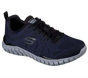 Black Navy Skechers Overhaul - Debbir