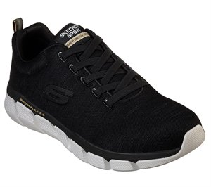 Black Skechers Relaxed Fit: Skech-Flex 3.0 - Strongkeep