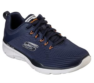 Orange Navy White Skechers Relaxed Fit: Equalizer 3.0