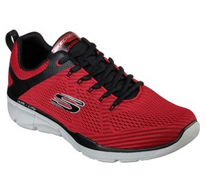 Black Red Skechers Relaxed Fit: Equalizer 3.0
