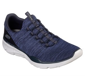 Navy Skechers Relaxed Fit: Equalizer 3.0 - Emrick