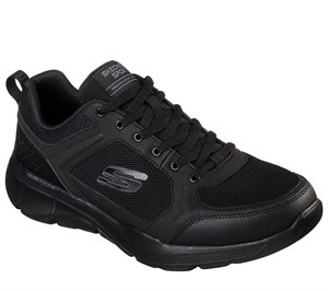 Black Skechers Relaxed Fit: Equalizer 3.0 - Deciment