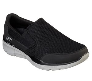 Gray Black Skechers Relaxed Fit: Equalizer 3.0 - Bluegate - FINAL SALE
