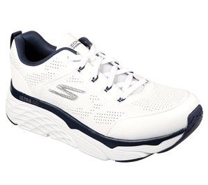 Navy White Skechers Skechers Max Cushioning Elite - Lucid - FINAL SALE