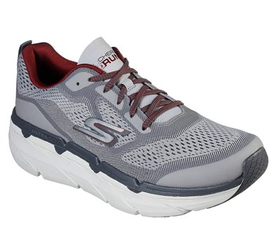 Red Gray Skechers Skechers Max Cushioning Premier - FINAL SALE