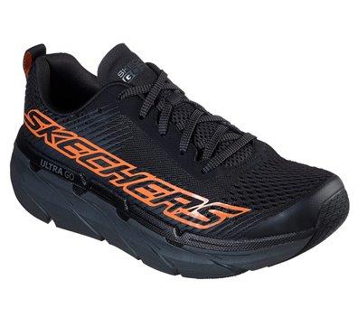 Orange Black Skechers Skechers Max Cushioning Premier - Expressive - FINAL SALE