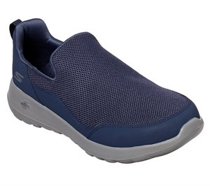 Gray Navy Skechers Skechers GOwalk Max - Privy