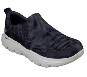 Gray Navy Skechers Skechers GOwalk Evolution Ultra - Impeccable