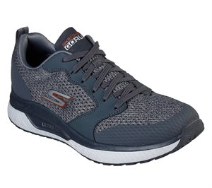 Gray Skechers Skechers GOrun Steady - Persuasion