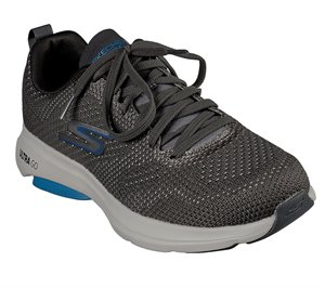 Gray Skechers Skechers GOrun Viz Tech - Culminated
