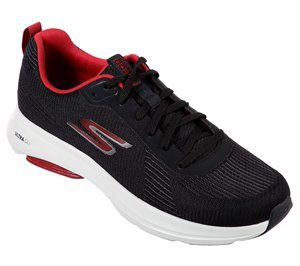 Red Black Skechers Skechers GOrun Viz Tech - Scorcher