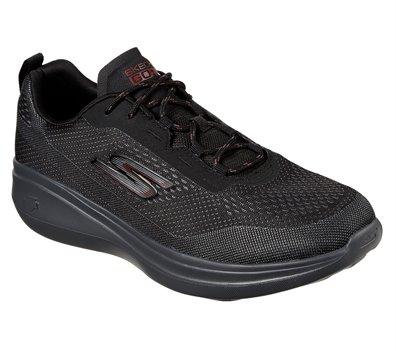 Gray Black Skechers Skechers GOrun Fast - Arco