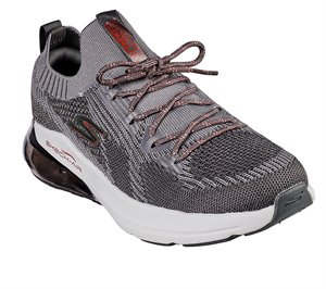 Red Gray Skechers Skechers GOrun Air - Stratus